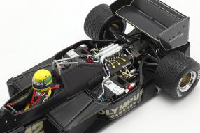 Modellautos Lotus 97T 1985 1:18 Senna