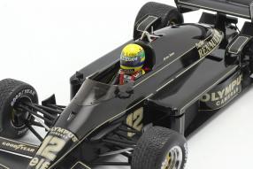 modelcars Lotus 97T 1985 1:18 Senna