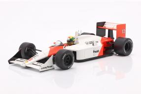 McLaren MP4/4 No. 12 1:18