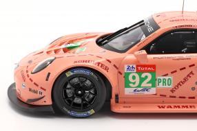 diecast miniatures Porsche 911 RSR Le Mans 2018 1:18 Ixo