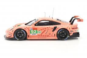 Modellautos Porsche 911 RSR Le Mans 2018 1:18 Ixo