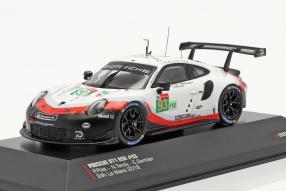 Porsche 911 RSR No. 93 Le Mans 2018 1:43 Ixo