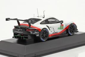 diecast miniatures Porsche 911 RSR No. 93 Le Mans 2018 1:43 Ixo