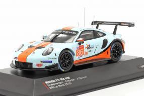 Porsche 911 RSR No. 86 Le Mans 2018 1:43 Ixo