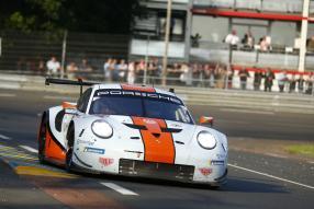 Porsche 911 RSR No. 86 Le Mans 2018, copyright Foto: Porsche AG