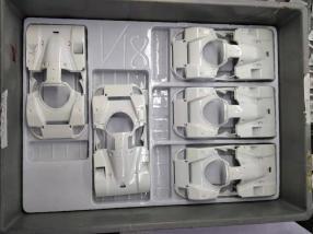 Mazda 787B 1:18 CMR in der Produktion, Entladung