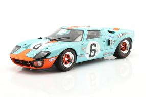 Ford  GT40 No. 6 winner Le Mans 1969 1:18 Solido