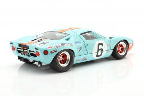 diecast miniatures Ford  GT40 No. 6 winner Le Mans 1969 1:18 Solido