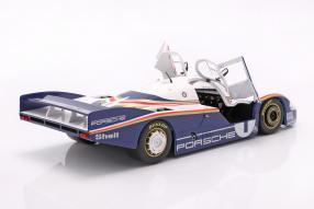 diecast miniatures Porsche 956 winner 24h Le Mans 1982 1:18 Solido