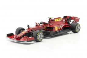 miniatures Ferrari SF1000 2020 Leclerc 1:43 Bburago