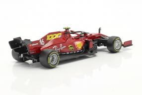 diecast miniatures automodelli miniatures Ferrari SF1000 2020 Leclerc 1:43 Bburago