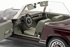 diecast miniatures Mercedes-Benz 280 SL 1968 1:18 Schuco