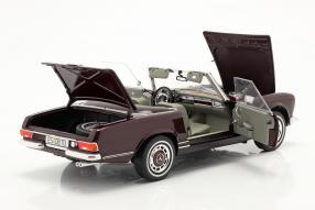 automodelli Mercedes-Benz 280 SL 1968 1:18 Schuco