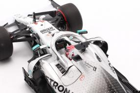 modellautos Lewis Hamilton Mercedes-AMG F1 W10 F1 2019 1:18 Minichamps mit Klappbox