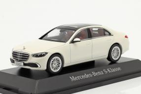 diecast miniatures Mercedes-Benz S-Klasse W223 / V223 2021 1:43 Herpa