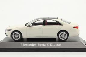 Modellautos Mercedes-Benz S-Klasse W223 / V223 2021 1:43 Herpa