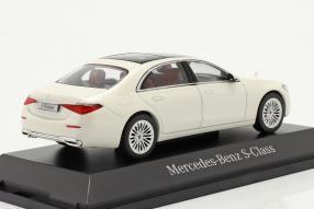 modelcars Mercedes-Benz S-Klasse W223 / V223 2021 1:43 Herpa