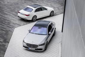 Mercedes-Benz S-Klasse W223 / V223 2021, copyright Foto: Daimler AG