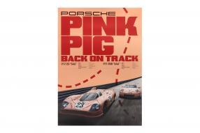 Set Poster Porsche 917/20 pink pig