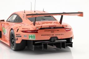 diecast miniatures Modellautos Porsche 911 RSR Le Mans 2018 1:18 Ixo