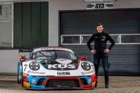 Porsche 911 GT3 R, Christian Engelhart für KÜS Team75 Bernhard 2021 / Foto: Team75 Motorsport, Gruppe C Photography