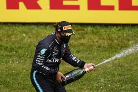 Lewis Hamilton Steiermark GP 2020 / copyright Foto: Daimler AG