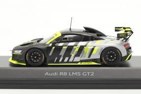 miniatures Audi R8 LMS GT2 Präsentation 1:43 Spark