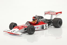 diecast miniatures McLaren Ford M23 No. 5 Fittipaldi 1974 1:18