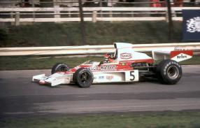 McLaren Ford M23 No. 5 Fittipaldi 1974, copyright Foto: Gerald Swan