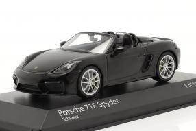 Porsche 718 Boxster Spyder 2020 1:43