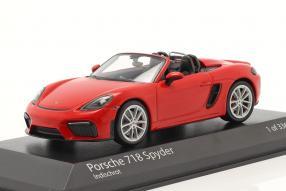 Modellautos Porsche 718 Boxster Spyder 2020 1:43
