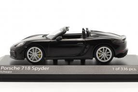 diecast miniatures Porsche 718 Boxster Spyder 2020 1:43