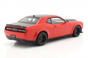modelcars Dodge Challenger SRT Demon 2018 1:18