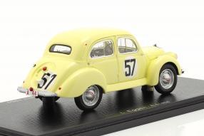 Panhard Dyna X84 1950 1:43