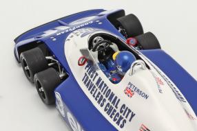 miniatures Tyrrell P34 1977 1:18
