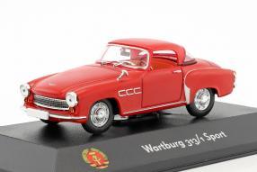 diecast miniatures Wartburg 313.1 Sport 1:43 Atlas