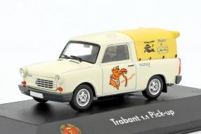 diecast miniatures Trabant 1.1 pick up 1:43 Atlas