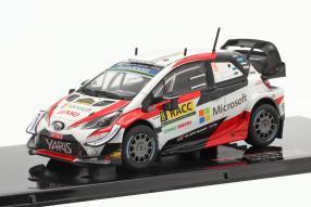 Toyota Yaris WRC No. 8 2nd Rallye Catalunya 2019 1:43 Ixo