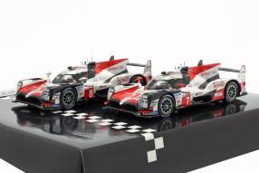 miniatures Toyota TS050 hybrid No. 8 Le Mans 2019 1:43 Spark