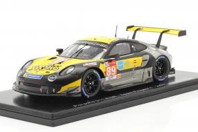 Porsche 911 RSR No. 89 Le Mans 2020 1:43