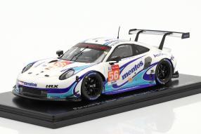 Porsche 911 RSR No. 56 Le Mans 2020 1:43
