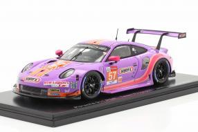 Porsche 911 RSR No. 57 Le Mans 2020 1:43
