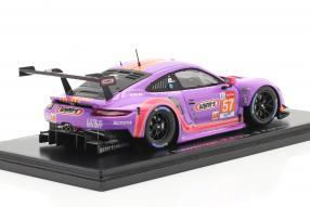 Modellautos Porsche 911 RSR No. 57 Le Mans 2020 1:43