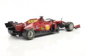 diecast miniatures Ferrari SF1000 2020 Vettel 1:18 Bburago