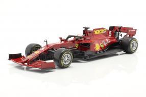 automodelli Ferrari SF1000 2020 Vettel 1:18 Bburago