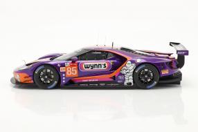 Modellautos Ford GT Le Mans No. 85 2019 1:18 TrueScale