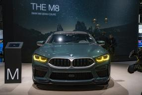 BMW M8 2020, copyright Foto: BMW AG