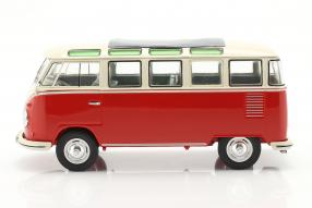 diecast miniatures Volkswagen VW T1 Bulli Samba Sambabus 1962 1:18