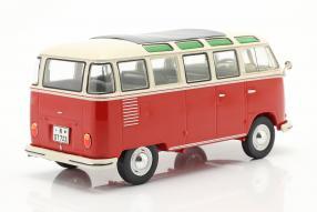 Modellautos Volkswagen VW T1 Bulli Samba Sambabus 1962 1:18