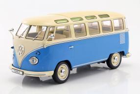 modelcars Volkswagen VW T1 Bulli Samba Sambabus 1962 1:18